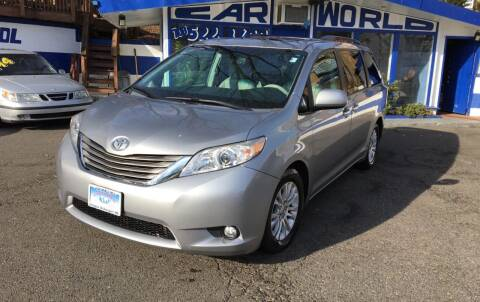 2011 Toyota Sienna for sale at Car World Inc in Arlington VA