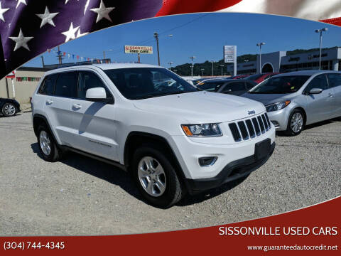 2015 Jeep Grand Cherokee for sale at Sissonville Used Cars in Charleston WV