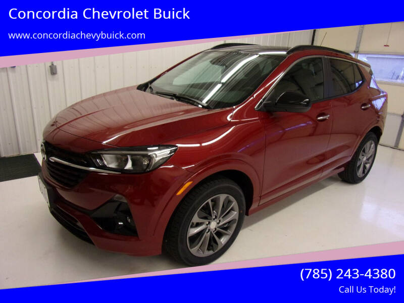 2021 Buick Encore GX for sale at Concordia Chevrolet Buick in Concordia KS