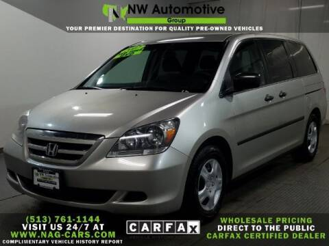2007 Honda Odyssey for sale at NW Automotive Group in Cincinnati OH