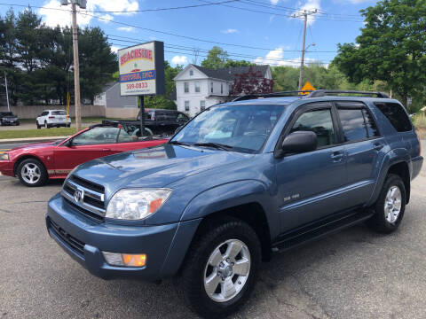 2005 Toyota 4Runner for sale at Beachside Motors, Inc. in Ludlow MA