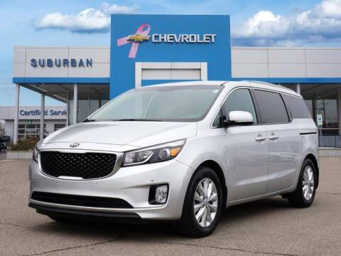 2017 Kia Sedona for sale at Suburban Chevrolet of Ann Arbor in Ann Arbor MI