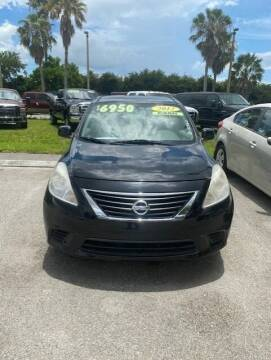 2012 Nissan Versa for sale at DAN'S DEALS ON WHEELS in Davie FL