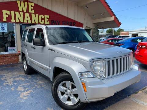 2012 Jeep Liberty for sale at Caspian Auto Sales in Oklahoma City OK