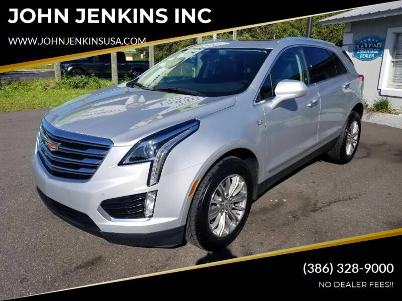 2017 Cadillac XT5 for sale at JOHN JENKINS INC in Palatka FL