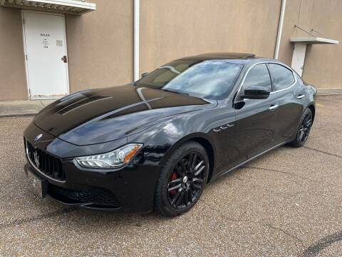 2017 Maserati Ghibli for sale at The Auto Toy Store in Robinsonville MS