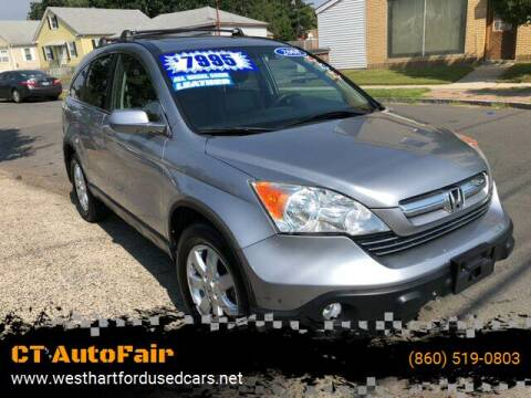 2008 Honda CR-V for sale at CT AutoFair in West Hartford CT