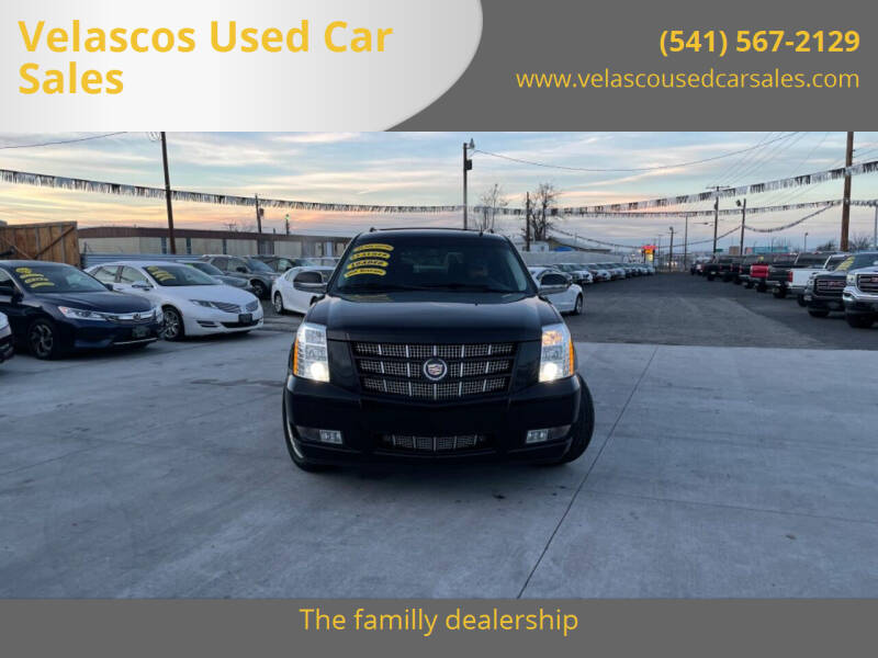 2014 Cadillac Escalade ESV for sale at Velascos Used Car Sales in Hermiston OR