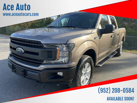 2018 Ford F-150 for sale at Ace Auto in Jordan MN