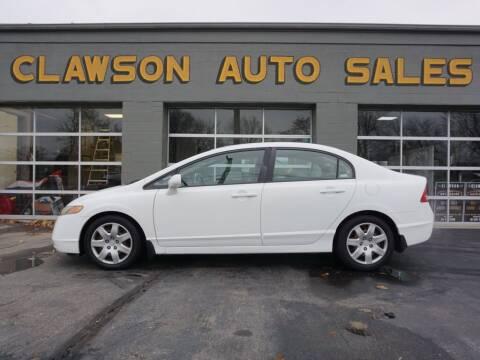 2008 Honda Civic for sale at Clawson Auto Sales in Clawson MI