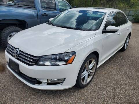2012 Volkswagen Passat for sale at Extreme Auto Sales LLC. in Wautoma WI