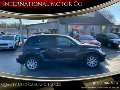 2008 Chrysler PT Cruiser for sale at International Motor Co. in St. Charles MO