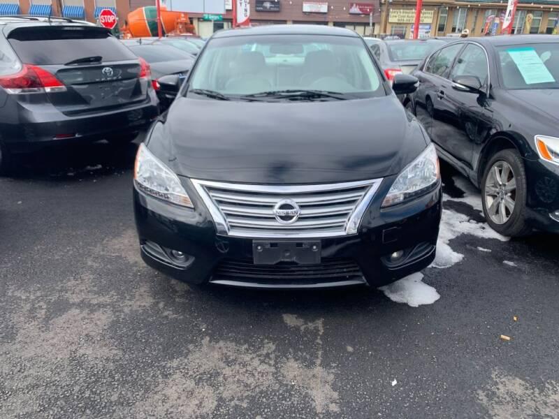 2013 Nissan Sentra for sale at Park Avenue Auto Lot Inc in Linden NJ