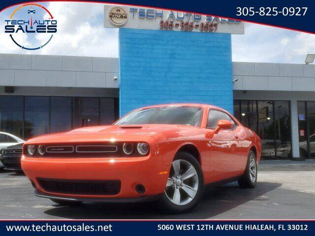2018 Dodge Challenger for sale at Tech Auto Sales in Hialeah FL