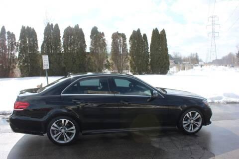 2016 Mercedes-Benz E-Class for sale at D & B Auto Sales LLC in Washington Township MI