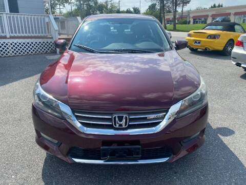2015 Honda Accord for sale at Fuentes Brothers Auto Sales in Jessup MD