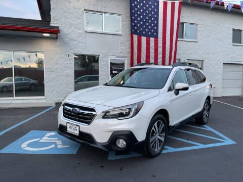 2018 Subaru Outback for sale at ELDER AUTO SALES LLC in Coeur D'Alene ID