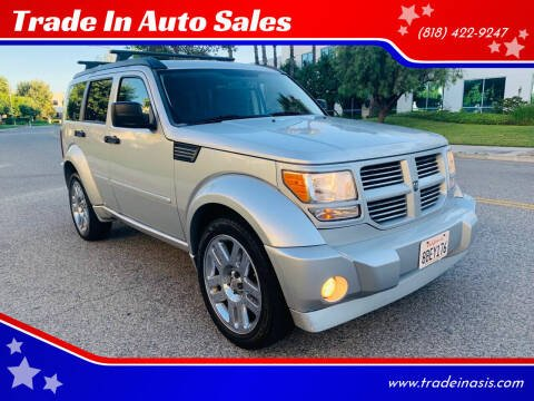 2007 Dodge Nitro for sale at Trade In Auto Sales in Van Nuys CA