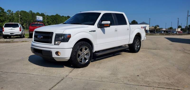 2014 Ford F-150 for sale at WHOLESALE AUTO GROUP in Mobile AL