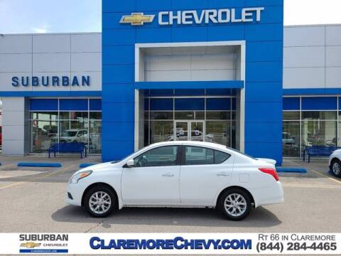 2017 Nissan Versa for sale at Suburban Chevrolet in Claremore OK