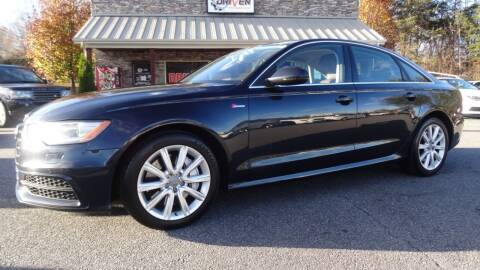 2012 Audi A6 for sale at Driven Pre-Owned in Lenoir NC