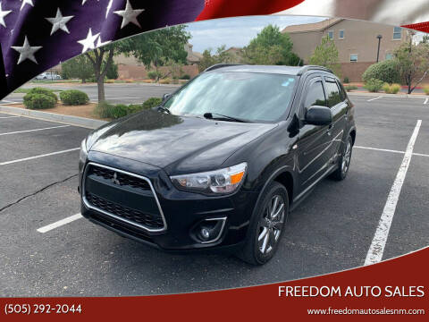 2013 Mitsubishi Outlander Sport for sale at Freedom Auto Sales in Albuquerque NM