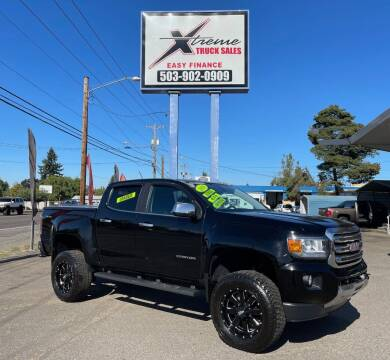 2016 GMC Canyon for sale at Xtreme Truck Sales in Woodburn OR