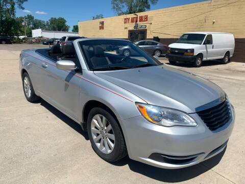 2011 Chrysler 200 Convertible for sale at City Auto Sales in Roseville MI
