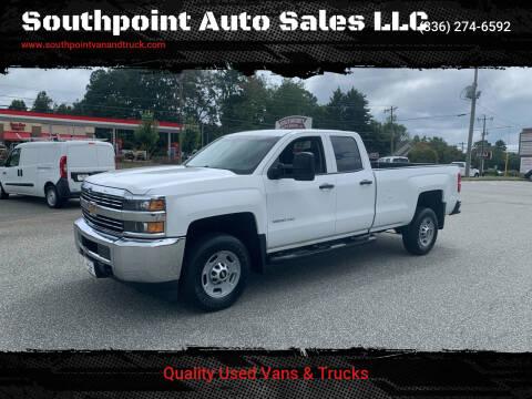 2015 Chevrolet Silverado 2500HD for sale at Southpoint Auto Sales LLC in Greensboro NC