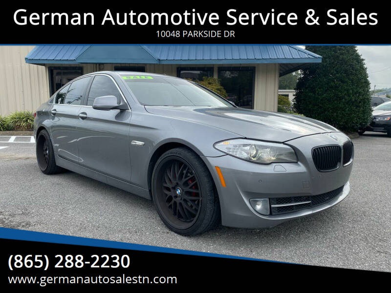 2012 BMW 5 Series for sale at German Automotive Service & Sales in Knoxville TN