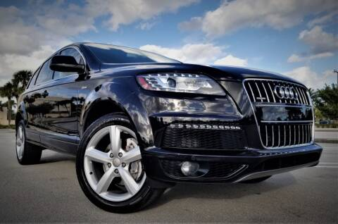2014 Audi Q7 for sale at Progressive Motors in Pompano Beach FL