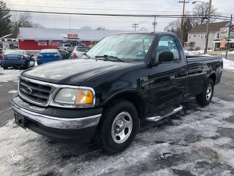 2003 Ford F-150 for sale at JB Auto Sales in Schenectady NY