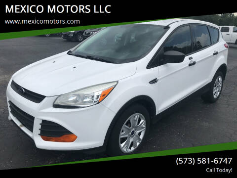 2014 Ford Escape for sale at MEXICO MOTORS LLC in Mexico MO