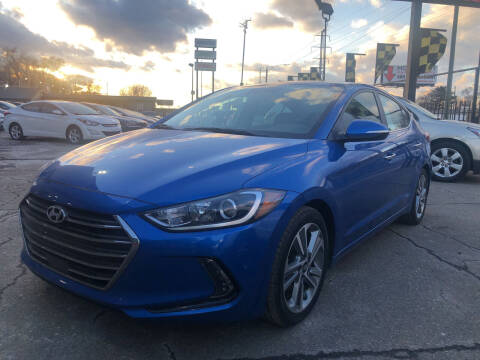 2017 Hyundai Elantra for sale at Champs Auto Sales in Detroit MI