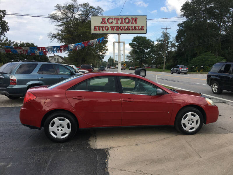 2007 Pontiac G6 for sale at Action Auto Wholesale in Painesville OH