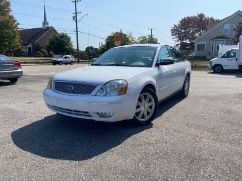2005 Ford Five Hundred for sale at Metacom Auto Sales in Ware RI