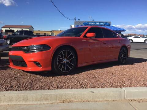 2017 Dodge Charger for sale at SPEND-LESS AUTO in Kingman AZ