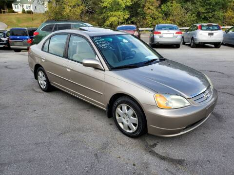 2001 Honda Civic for sale at DISCOUNT AUTO SALES in Johnson City TN
