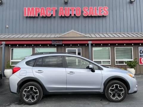 2014 Subaru XV Crosstrek for sale at Impact Auto Sales in Wenatchee WA