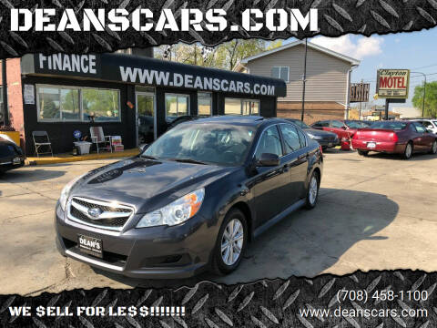 2011 Subaru Legacy for sale at DEANSCARS.COM in Bridgeview IL