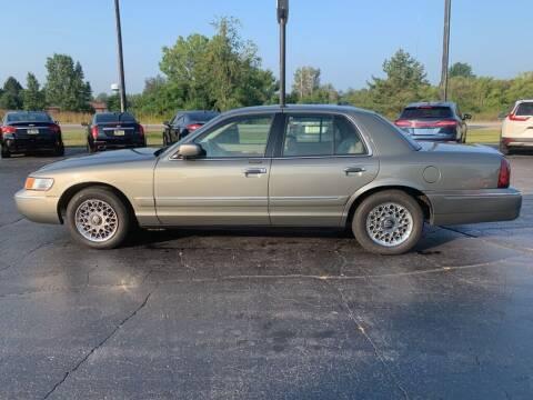 2002 Mercury Grand Marquis for sale at Hawkins Motors Sales in Hillsdale MI