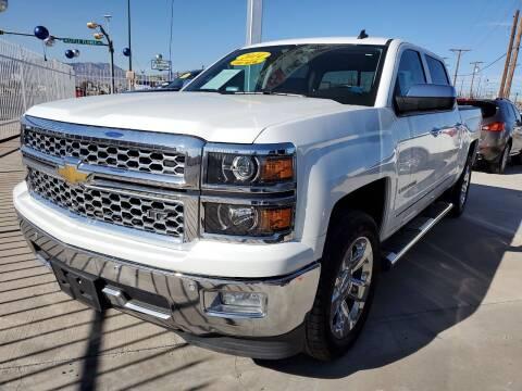 2014 Chevrolet Silverado 1500 for sale at Hugo Motors INC in El Paso TX