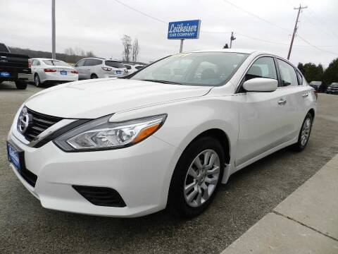 2018 Nissan Altima for sale at Leitheiser Car Company in West Bend WI