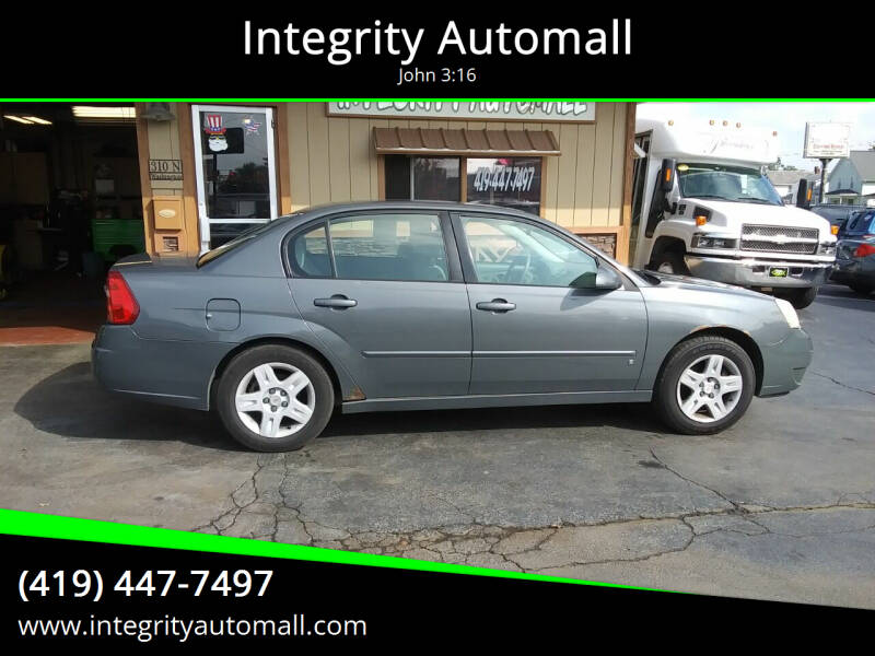 2008 Chevrolet Malibu Classic for sale at Integrity Automall in Tiffin OH