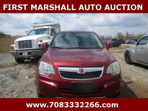 2009 Saturn Vue for sale at First Marshall Auto Auction in Harvey IL