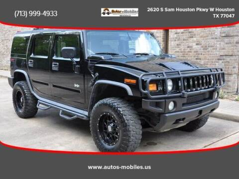 2004 HUMMER H2 for sale at AUTOS-MOBILES in Houston TX