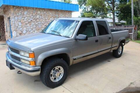 1999 Chevrolet C/K 2500 Series for sale at CANTWEIGHT CLASSICS in Maysville OK
