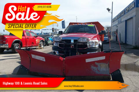 2008 Dodge Ram Chassis 5500 for sale at Highway 100 & Loomis Road Sales in Franklin WI