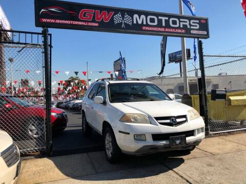 2004 Acura MDX for sale at GW MOTORS in Newark NJ