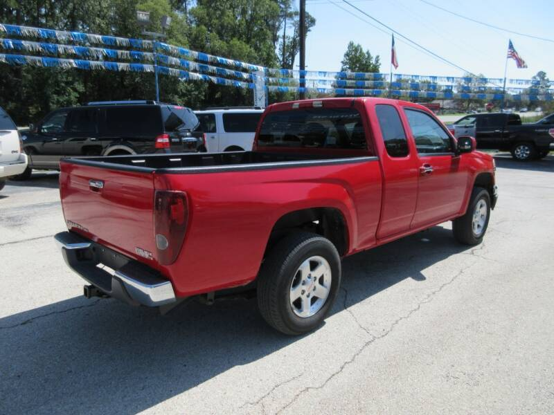 2010 GMC Canyon 4x2 SLE-1 4dr Extended Cab - Tyler TX